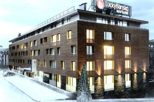 Ski hotel facade | Lucky Bansko SPA & Relax