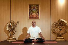"""Yoga pose """"Lotus"""""""