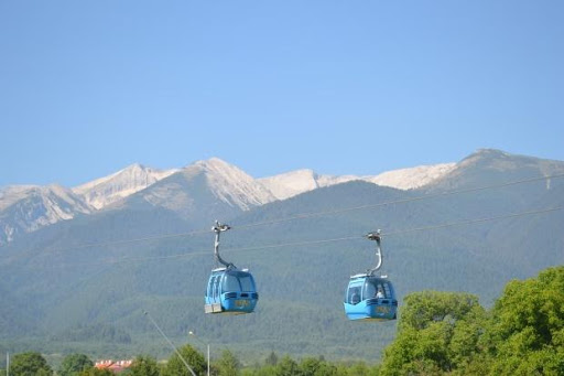 Landmarks around the cabin lift | Lucky Bansko