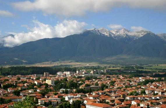 The town of Razlog in the Razlog valley | Lucky Bansko