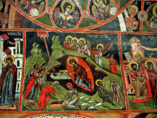 Iconography in a church in the village of Dobarsko | Lucky Bansko