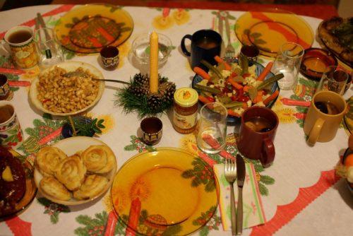 Christmas table in Bansko | Lucky Bansko SPA & Relax