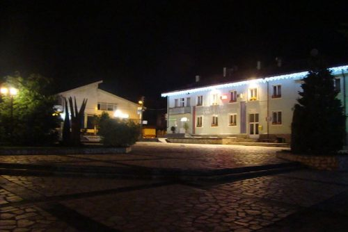 Picture of Dobrinishte at night | Lucky Bansko