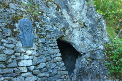 The cave of St. Ivan Rilski Lucky Bansko