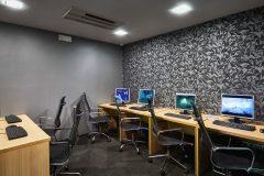 Computer room hotel