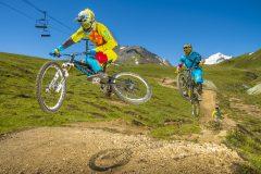 Extreme bike riding Luckybansko