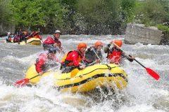 Rafting, kayaking and canyoning