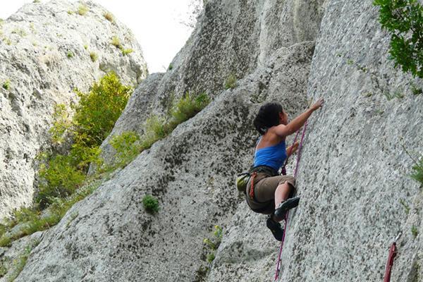 Rock climbing in Bansko