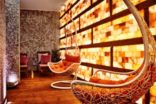 Salt room in Aparthotel Lucky Bansko SPA & Relax