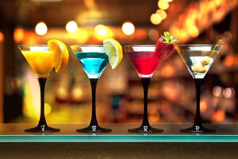 Cocktails in a bar in Bansko | Lucky Bansko
