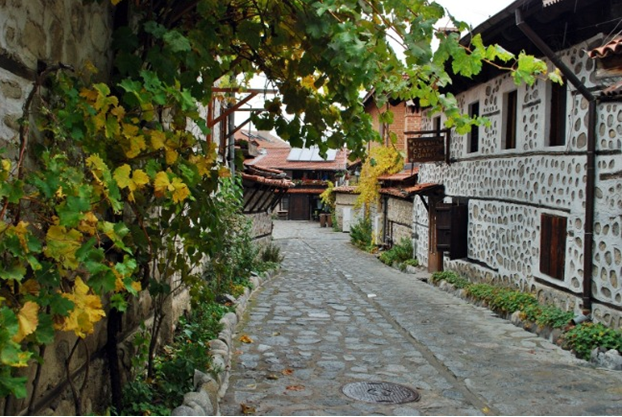 Architecture in Bansko