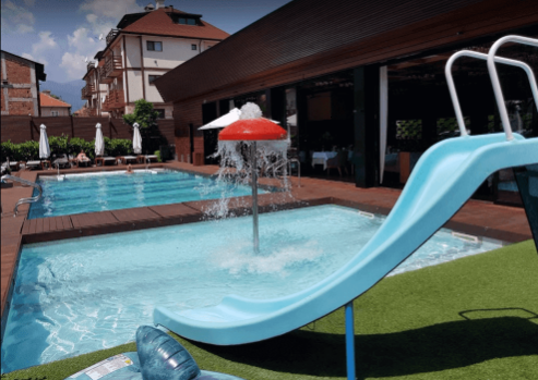 The aqua complex of Lucky Bansko - real water fun for young and old